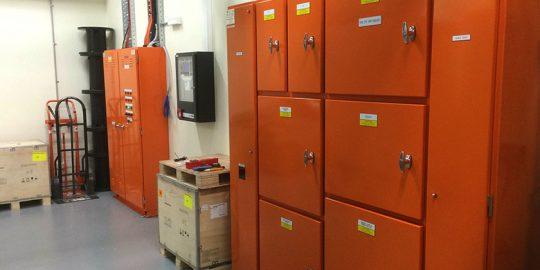 333 Collins Street Optus Exchange Power box