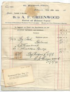 Greenwood Electrical and Mechanical Engineer certificate for June17th 1931